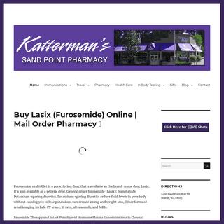 Buy Lasix (Furosemide) Online - Mail Order Pharmacy 📧