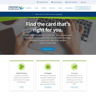 Homepage - Virginia Credit Union