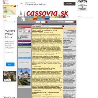Cassovia.sk --