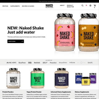 Naked Nutrition - Nutrition With Nothing To Hide