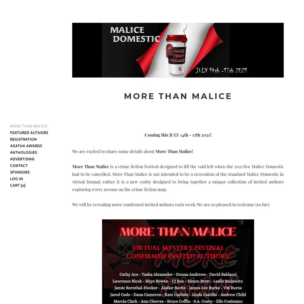 Malice Domestic