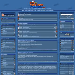 pouët.net -- your online demoscene resource