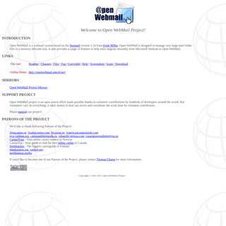 Open WebMail Project