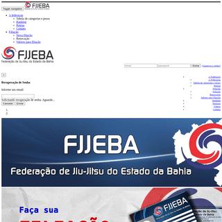 FJJEBA - Federação de Jiu-jitsu do estado da Bahia