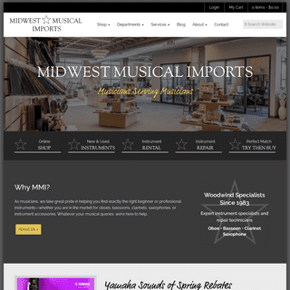 New + Used Woodwind Instruments & Accessories For Sale - MMI