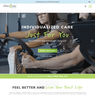 Chiropractic Care Close to Home - Chiro One Wellness Centers