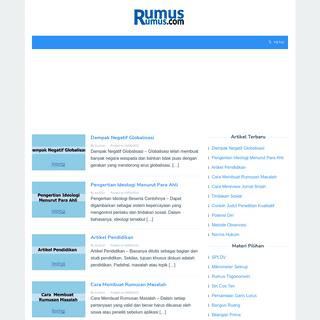 RumusRumus.com - Rumus