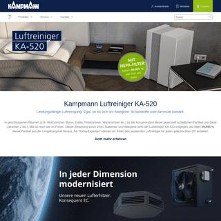 Kältetechnik, Lüftungstechnik & Klimatechnik - Kampmann