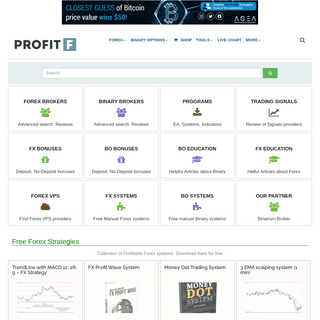 ProfitF - Website for Forex, Binary options Traders (Helpful Reviews) - ProfitF.com offers Advanced Search of Forex and Binary o