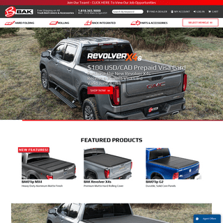 Tonneau Covers - Truck Bed Accessories - BAK Industries - BAK