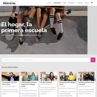 Cursos online para padres y educadores • Escuela Bitácoras