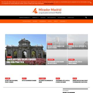 Inicio - Mirador Madrid