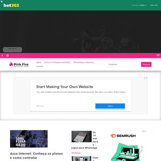 Pink Fire - Marketing Digital e Mídias Sociais - Pink Fire