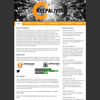 Keepalived for Linux