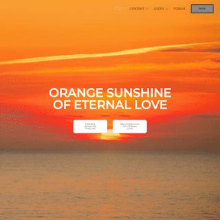 OSEL – Orange Sunshine of Eternal Love