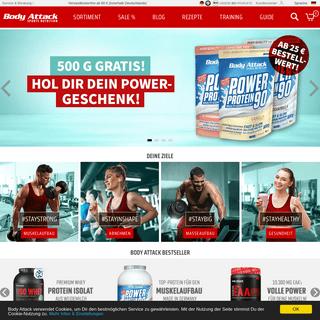 Body Attack - Fitness Shop für Sportnahrung