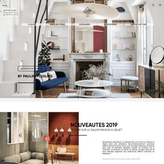 HARTÔ - Marque française de mobilier et d`objets de décoration singuliers, pour intérieurs audacieux.