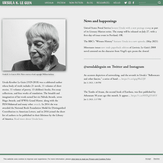 Ursula K. Le Guin - Author