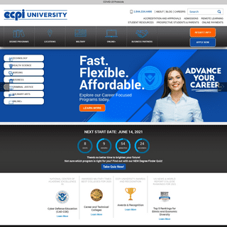 ECPI University - Accredited - Offering Online & On-Campus Degrees