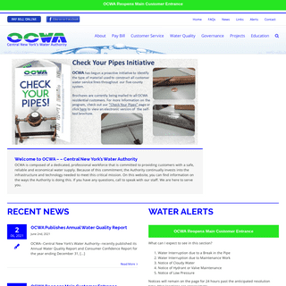 OCWA – Central New York's Water Authority