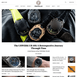 FratelloWatches - an online magazine dedicated to watches