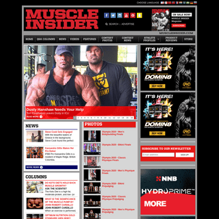 MUSCLE INSIDER - THE SCIENCE OF BUILDING MUSCLE