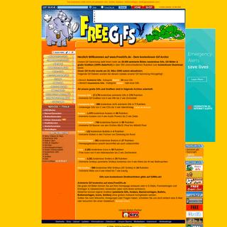 Animierte Gifs - Gif Animationen - kostenlose Grafiken - FreeGifs.de