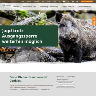 startseite - Deutscher Jagdverband