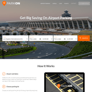 Airport Parking With ParkON - Cheap Airport Parking Reservations