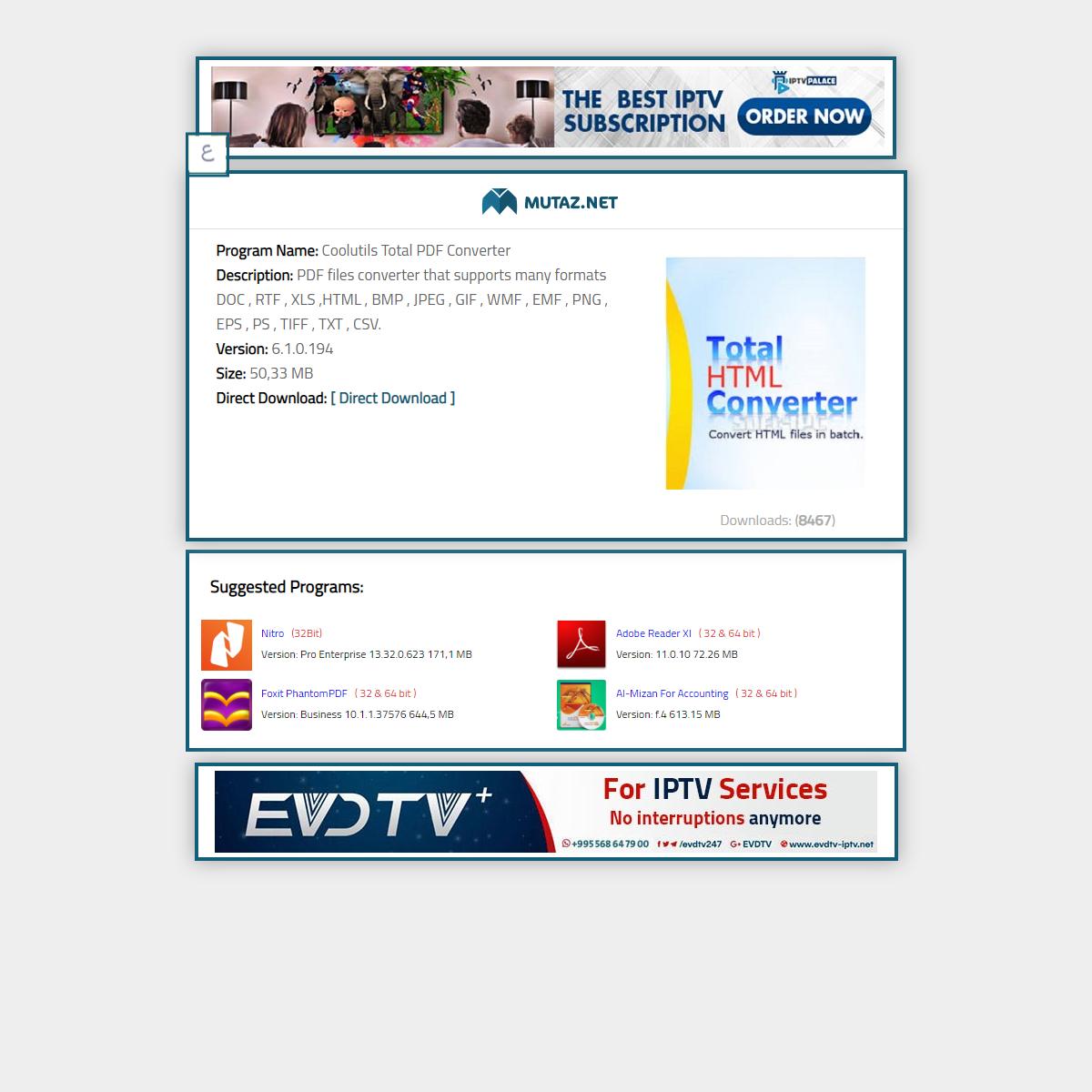 Coolutils Total PDF Converter 6.1.0.194Download Page