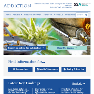 Addiction Journal › Homepage