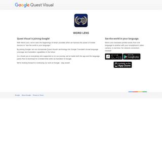 Quest Visual – Google Quest Visual