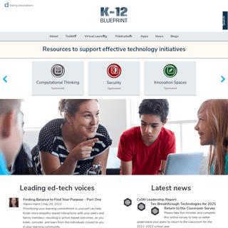 Technology in Education - K-12 Blueprint