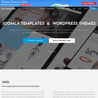 GavickPro - Joomla Templates and WordPress Themes