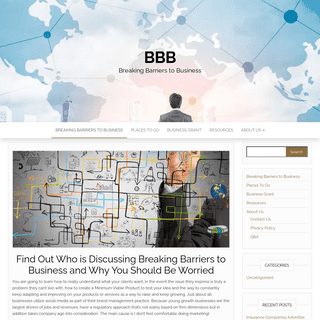 Want to Know More About Breaking Barriers to Business- - BBB
