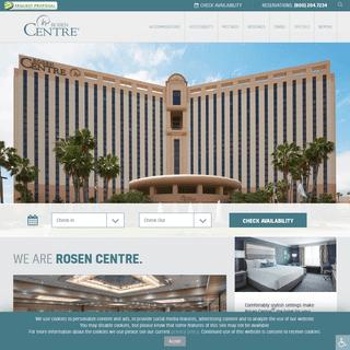 Orlando Meeting Hotel - Orlando Convention Hotel - International Drive Hotel - Rosen Centre Hotel