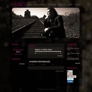 Welcome - Christopher Dallo
