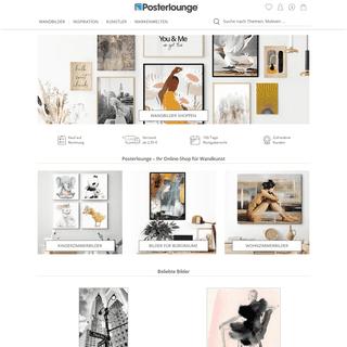 Ihr Online-Shop für Wandkunst - Posterlounge