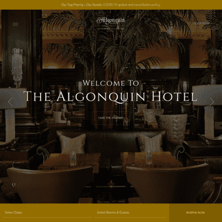Finest Luxury - Hotel Near Times Square - The Algonquin Hotel