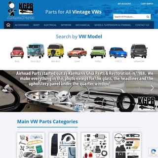 Vintage VW Parts & Volkswagen Parts - Airhead Parts KGPR