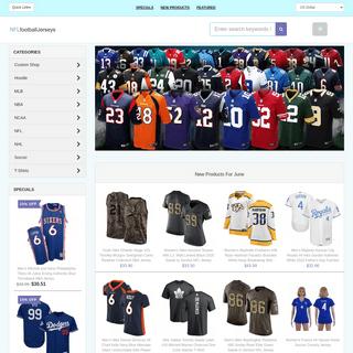 Football Jerseys - Official NFL Football Jerseys - Custom Football Jerseys For Sale