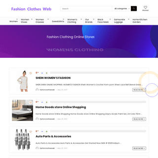 Fashion Clothes Web – Best Women Fashion