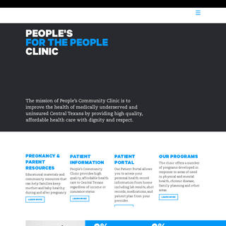 Home - People`s Community Clinic