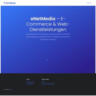 eNetMedia – E-Commerce & Web-Dienstleistungen