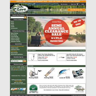 Discount Fishing Tackle & Gear - Your Favorite Gear at Closeout Prices