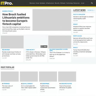 IT PRO - Enterprise & Business IT News, Reviews, Features & How Tos