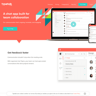 Chat App for Businesses and Teams - Typetalk