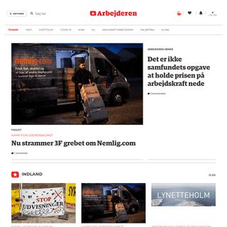 Arbejderen – Det kæmpende Danmarks digitale dagblad