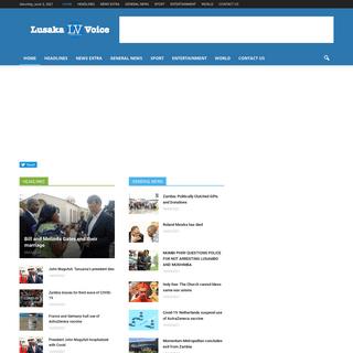 Lusaka Voice - Zambia`s online news site