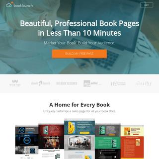 Booklaunch.io — Book Marketing Made Easy